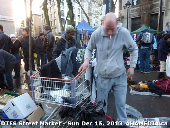 117 AHA MEDIA at DTES Street Market in Vancouver - Sun Dec 15, 2013