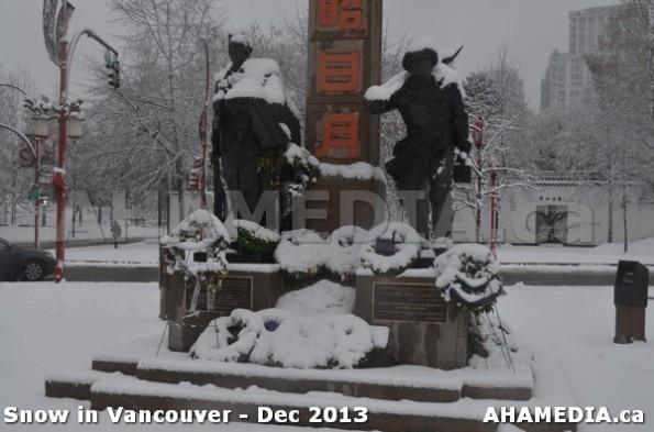 117 AHA MEDIA sees Snowfall in Vancouver Dec 2013