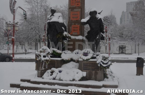 117 AHA MEDIA sees Snowfall in Vancouver Dec 2013