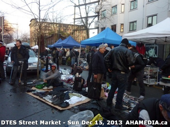 118 AHA MEDIA at DTES Street Market in Vancouver - Sun Dec 15, 2013