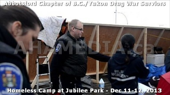 12  AHA MEDIA at BC Yukon Drug War Survivors Homeless Standoff in Jubilee Park, Abbotsford, B.C.