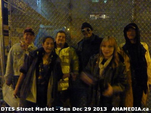 121 AHA MEDIA  sees DTES Street Market on Sun Dec 29 2013