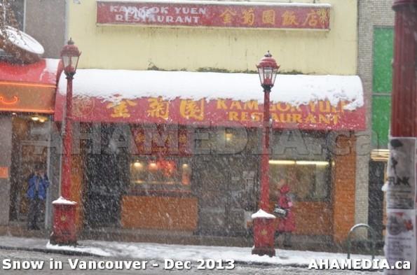 121 AHA MEDIA sees Snowfall in Vancouver Dec 2013