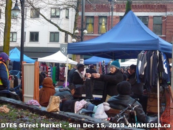 132 AHA MEDIA at DTES Street Market in Vancouver - Sun Dec 15, 2013