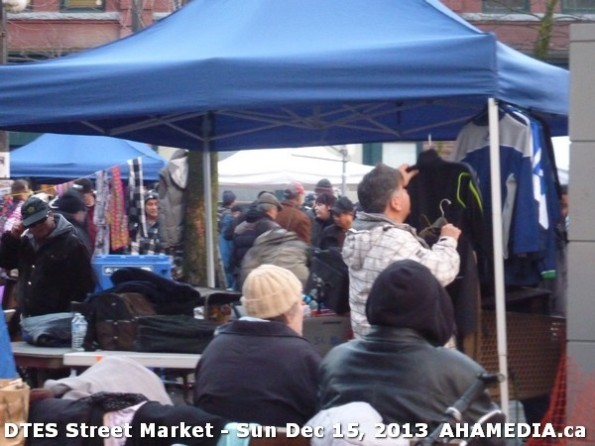 136 AHA MEDIA at DTES Street Market in Vancouver - Sun Dec 15, 2013