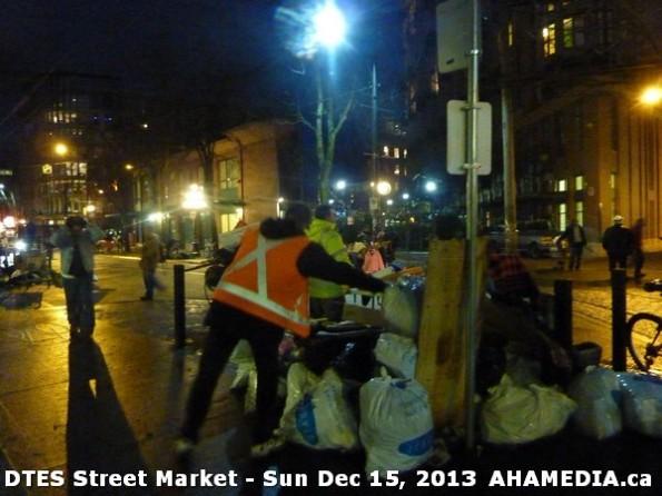 137 AHA MEDIA at DTES Street Market in Vancouver - Sun Dec 15, 2013