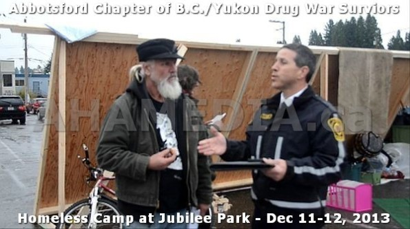 15  AHA MEDIA at BC Yukon Drug War Survivors Homeless Standoff in Jubilee Park, Abbotsford, B.C.
