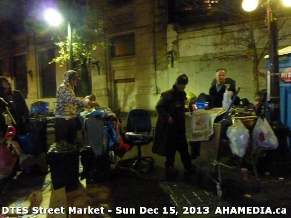 158 AHA MEDIA at DTES Street Market in Vancouver - Sun Dec 15, 2013