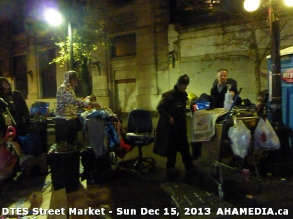 158 AHA MEDIA at DTES Street Market in Vancouver - Sun Dec 15, 2013