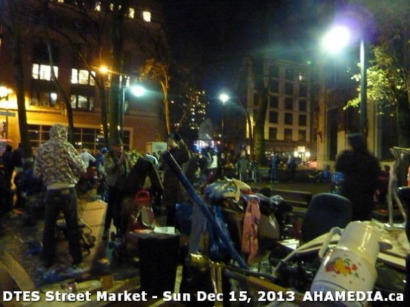 161 AHA MEDIA at DTES Street Market in Vancouver - Sun Dec 15, 2013