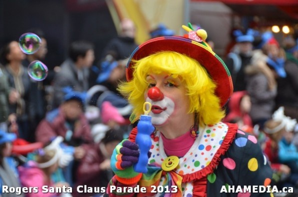 162 AHA MEDIA at 10th Annual Rogers Santa Claus Parde in Vancouver 2013