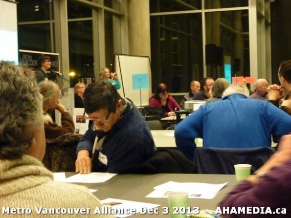 17 AHA MEDIA at Metro Alliance Vancouver meeting - Tues Dec 3 2013