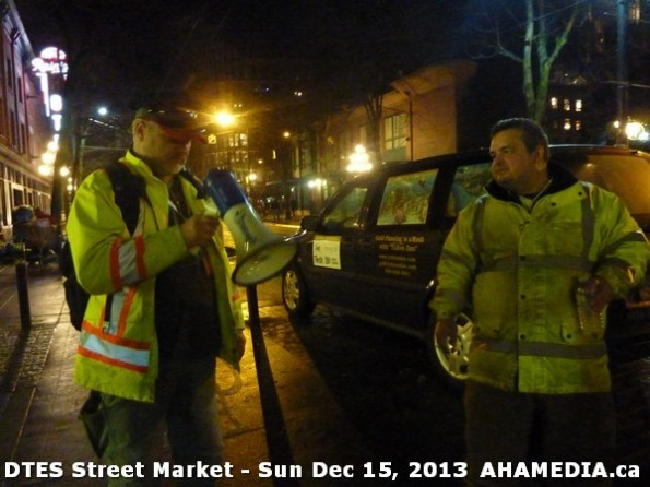 170 AHA MEDIA at DTES Street Market in Vancouver - Sun Dec 15, 2013