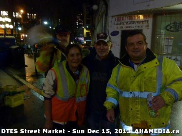 179 AHA MEDIA at DTES Street Market in Vancouver - Sun Dec 15, 2013