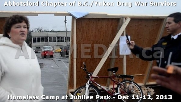 18  AHA MEDIA at BC Yukon Drug War Survivors Homeless Standoff in Jubilee Park, Abbotsford, B.C.