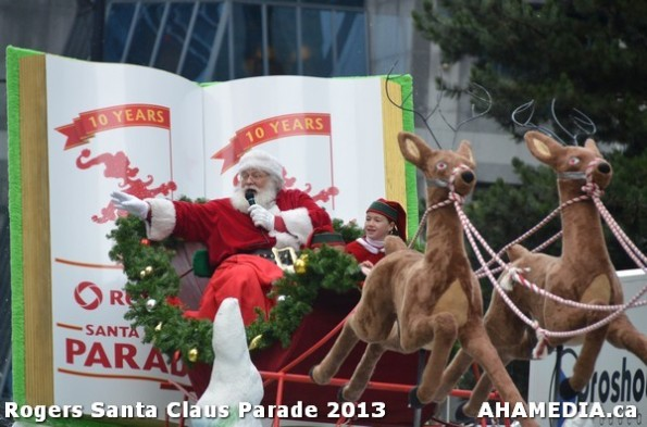 181 AHA MEDIA at 10th Annual Rogers Santa Claus Parde in Vancouver 2013