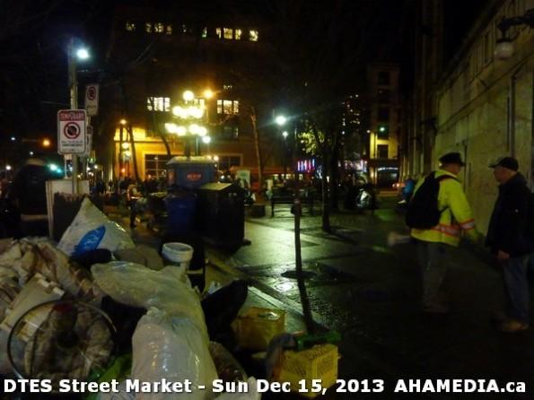 182 AHA MEDIA at DTES Street Market in Vancouver - Sun Dec 15, 2013