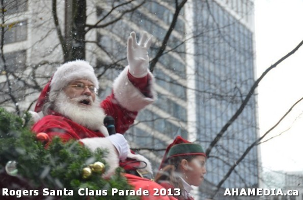 186 AHA MEDIA at 10th Annual Rogers Santa Claus Parde in Vancouver 2013