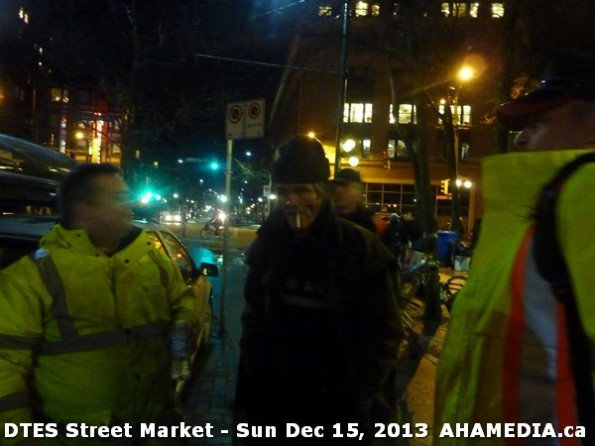 189 AHA MEDIA at DTES Street Market in Vancouver - Sun Dec 15, 2013