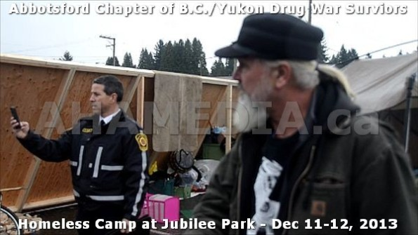 19  AHA MEDIA at BC Yukon Drug War Survivors Homeless Standoff in Jubilee Park, Abbotsford, B.C.