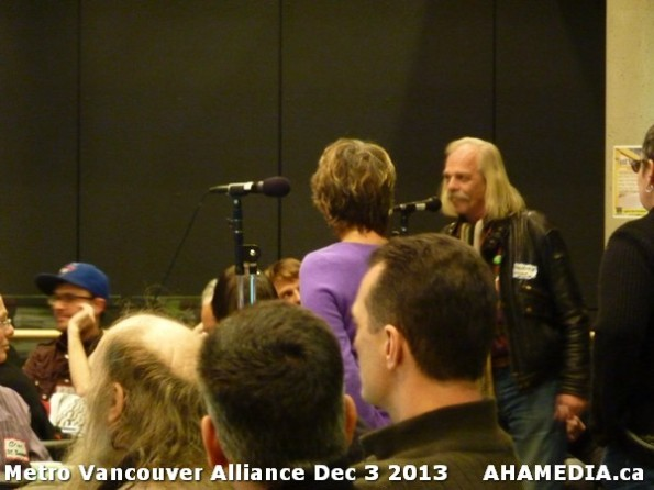 19 AHA MEDIA at Metro Alliance Vancouver meeting - Tues Dec 3 2013