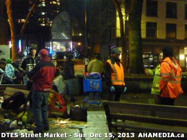 190 AHA MEDIA at DTES Street Market in Vancouver - Sun Dec 15, 2013