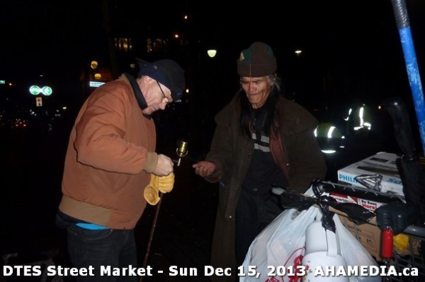 192 AHA MEDIA at DTES Street Market in Vancouver - Sun Dec 15, 2013