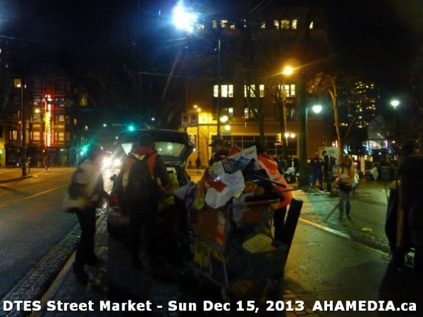 195 AHA MEDIA at DTES Street Market in Vancouver - Sun Dec 15, 2013