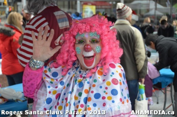 2 AHA MEDIA at 10th Annual Rogers Santa Claus Parde in Vancouver 2013