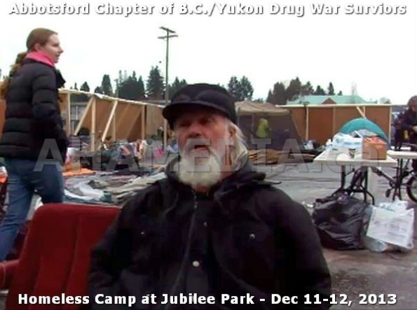 2  AHA MEDIA at BC Yukon Drug War Survivors Homeless Standoff in Jubilee Park, Abbotsford, B.C.