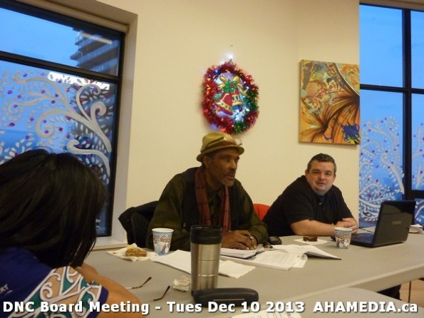 2 AHA MEDIA at DNC Board Meeting - Tues Dec 10 2013
