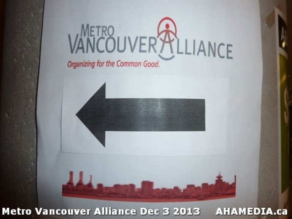 2 AHA MEDIA at Metro Alliance Vancouver meeting - Tues Dec 3 2013
