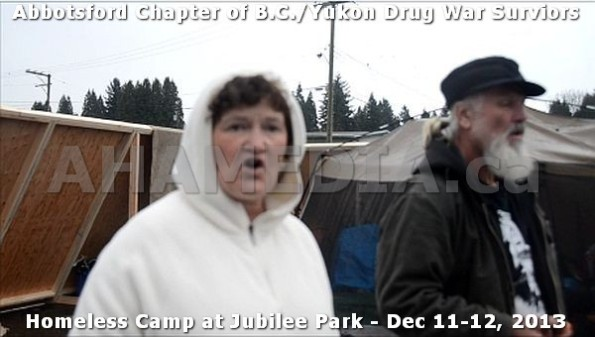 20  AHA MEDIA at BC Yukon Drug War Survivors Homeless Standoff in Jubilee Park, Abbotsford, B.C.