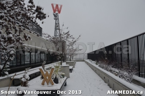 205 AHA MEDIA sees Snowfall in Vancouver Dec 2013