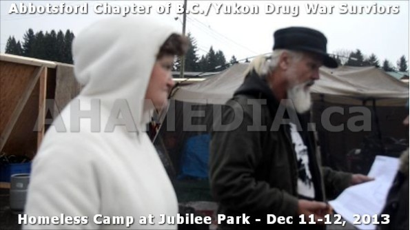 21  AHA MEDIA at BC Yukon Drug War Survivors Homeless Standoff in Jubilee Park, Abbotsford, B.C.