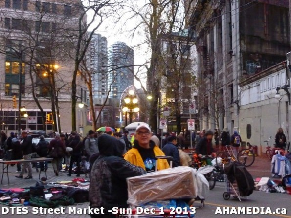 21 AHA MEDIA at DTES Street Market - Sun Dec1 2013