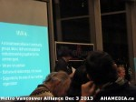 21 AHA MEDIA at Metro Alliance Vancouver meeting - Tues Dec 3 2013