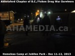 212 AHA MEDIA at BC Yukon Drug War Survivors Homeless Standoff in Jubilee Park, Abbotsford, B.C.