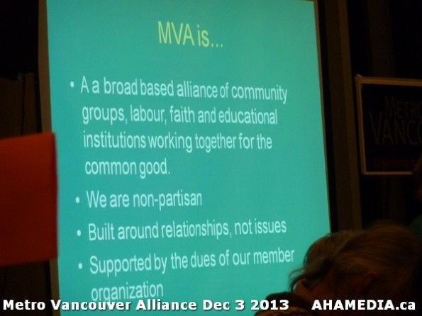 22 AHA MEDIA at Metro Alliance Vancouver meeting - Tues Dec 3 2013