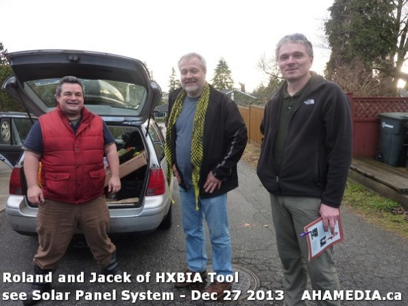 22 AHA MEDIA sees Roland Clarke and Jacek Lorek with Solar Panel system