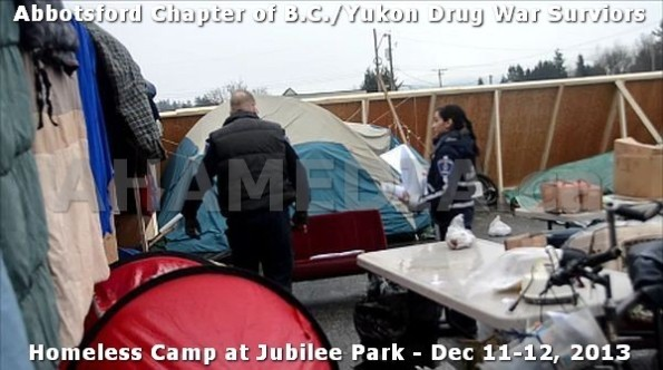 23  AHA MEDIA at BC Yukon Drug War Survivors Homeless Standoff in Jubilee Park, Abbotsford, B.C.