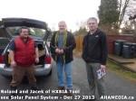 24 AHA MEDIA sees Roland Clarke and Jacek Lorek with Solar Panel system
