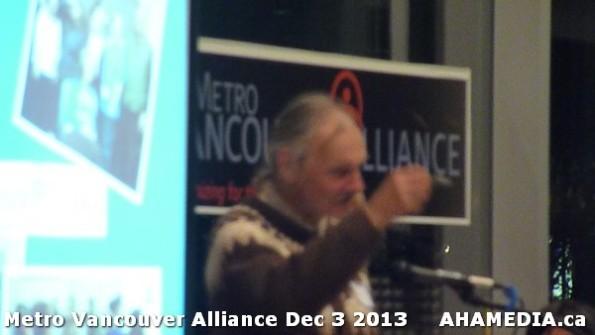 27 AHA MEDIA at Metro Alliance Vancouver meeting - Tues Dec 3 2013