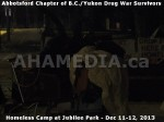 281 AHA MEDIA at BC Yukon Drug War Survivors Homeless Standoff in Jubilee Park, Abbotsford, B.C.