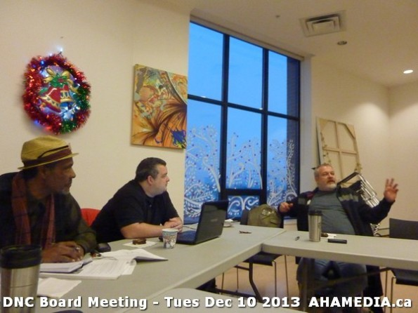 3 AHA MEDIA at DNC Board Meeting - Tues Dec 10 2013