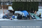 319 AHA MEDIA at BC Yukon Drug War Survivors Homeless Standoff in Jubilee Park, Abbotsford, B.C.