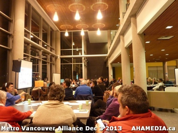 32 AHA MEDIA at Metro Alliance Vancouver meeting - Tues Dec 3 2013