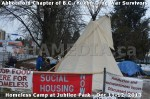 350 AHA MEDIA at BC Yukon Drug War Survivors Homeless Standoff in Jubilee Park, Abbotsford, B.C.