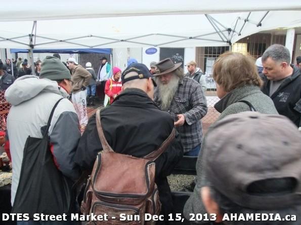 39 AHA MEDIA at DTES Street Market in Vancouver - Sun Dec 15, 2013