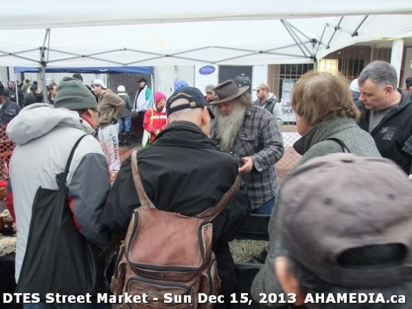 39 AHA MEDIA at DTES Street Market in Vancouver - Sun Dec 15, 2013